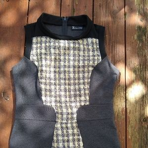 New York and company Tweed top